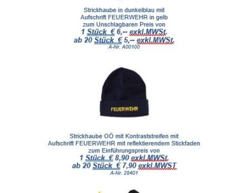 Aktion Strickhaube
